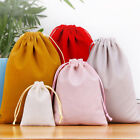 Jewelry Packing Velvet Bag Drawstring Pouches Cotton Accessories Cases Gift Bags