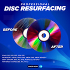 1-25 Disc Repair Service Fix Scratched Media, DVD, Blu-Ray, PS, XBOX, Wii & More
