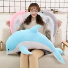 Big Size kawaii Dolphin Plush Toys Lovely Stuffed Soft Animal Pillow Dolls Gift