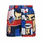 CMP Boardshort Swim Trunks Boy Shorts Blau Fotoprint Microfibre Logopatch Liner