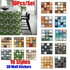 Mosaic Sticker Wall Decor Tile Stickers 3d Wall Decals Stickers Home Decoration