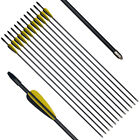 28inch SP700 Fiberglass Arrows Youth Kids Toy Hunting Shooting Practise 12pcs