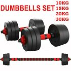 '10kg-30kg Dumbells Pair Of Gym Weights Barbell/dumbbell Body Building Weight Set