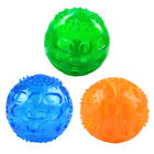 Durable Dog Non-Toxic Squeaky Ball Dog Chew Toys for Small Medium Large Dog