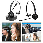 Cordless Bluetooth Telephone Headset Hand-free Earphone with Microphone