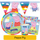 PEPPA PIG Birthday Party Range - Tableware Banners Balloons Supplies Decorations