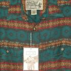 Mens Southwestern 2 pocket Button Down Longsleeve