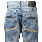 Rocawear Mens Denim 3rd Dimension Light Indigo MSRP $74