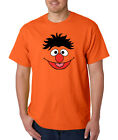 Ernie Face Sesame Street 100% Cotton Tee Shirt