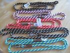 """MENDOTA Double Braided Dog Leash Lead Twist Med - Large 1/2"""" W 6' L Made in USA"""