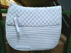 PRI PACIFIC RIM FLEECE BACK QUILTED DRESSAGE SADDLE PAD SEVERAL COLORS
