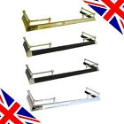 High Quality British Made Adjustable Fire Hearth Fenders - Brass, Silver, Black