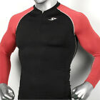 Mens Womens Compression Shirts BICYCLE GOLF base layer tights zip-up style Top