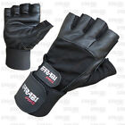WEIGHT LIFTING GYM TRAINING GLOVES GENUINE LEATHER