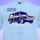 Classic Mini AUSTIN COUNTRYMAN - WOODIE - Mens T-Shirt Perfect for Rallies