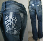 $205 NWT MENS ROCK & REPUBLIC JEANS HENLEE CENTRIC REACTION BLUE BOOT