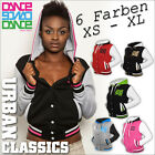 ► URBAN CLASSICS DANCE LADY LADIES DAMEN COLLEGE JACKE ◄◄◄