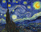 "Vincent Van Gogh- Starry Night - 20""x26""  Art on Canvas"
