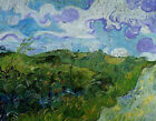 "Vincent Van Gogh- Green Wheat Fields - 20""x26""   on Canvas"
