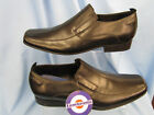 MENS LEATHER TWIN GUSSET SLIP ON (LAMBRETTA CROWLEY)