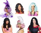 CLEARANCE Cheap Adult Costume WIGS New in Package Carnival Festival Mardi Gras