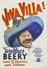 Wallace Beery in Viva Villa 24x36 Canvas Classic Movie Poster