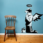 Banksy Praying Boy with wings Reusable Graffiti Mylar Art Stencil various sizes