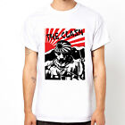 The Clash sun Japan Flag punk band UK London unisex white t-shirt