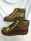 MENS KICKERS ANKLE BOOTS ( KH HIKE PERF) LACE UP FASTENING