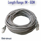 CAT5e Ethernet Lan Network RJ45 Internet Data Cat 5 5E Patch Lead Cable 8 Pairs