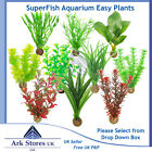Superfish Easy Plant Artificial Aquarium Fish Tank Plastic Decoration 20cm