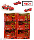 Maisto Assembly Line FERRARI 1:43 Scale Model Kits 6 To Collect NEW SEALED UK