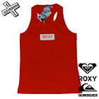 QUIKSILVER ROXY WOMENS VEST RED TECHNICAL DIVISION RRP £25 SURF BNWT BRAND NEW