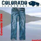 Colorado STAN  MEDIUM WORN IN  Jeans Weite 30 31 32 33 34 36 38  - Länge 38