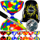 Diabolos - Jester Diabolo Set & Metal Diablo Sticks, String + Diabolo DVD & BAG