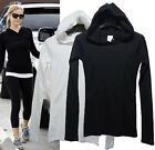 CELEBRITY style Button up neck Soft HoOdie