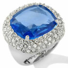 Serena Williams Signature Statement Red Carpet Dazzling Crystal Couture Ring