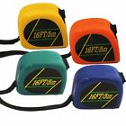 16' Heavy Duty Locking Tape Measure with Belt Grip - 4 Colors
