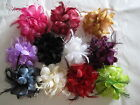 NEW ARRIVAL Wedding Feather Hair Fascinator Clip Corsage Brooch Pin Fasinators
