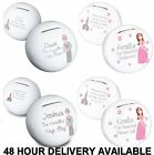 NEW PERSONALISED WEDDING BRIDESMAID PAGE BOY USHER WEDDING MONEY BOX PIGGY BANK