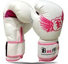 BooM Pro Ladies Nubuck Leather GEL Boxing Gloves Bag Gloves MMA Muay Thai  KICK