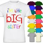 I'm The Big Sister Funny Cool Gift Kids Girl Cotton T-Shirt
