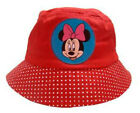 CHILDRENS KIDS GIRLS BABY DISNEY MINNIE MOUSE COTTON BUCKET BUSH SUN HAT CAP