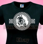 SKA Two Tone Scooter LADIES T Shirt 4 JAM Who WELLER Soul  & Specials Fans