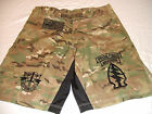 US ARMY SPECIAL FORCES SF COMBATANT MMA PT FIGHT NEW CAMO BOARD SHORTS  S - 3XL