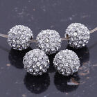 Wholesale Austrian Crystal Rhinestone Pave Disco Clay Ball Beads Findings Charms