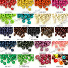 30g about 405-810pcs Wooden Wood Beads 21 Colors to choose Rondelle FAST SHIP