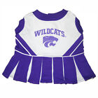 Kansas State Wildcats NCAA Licensed Pet Dog Cheerleader Dress Outfit