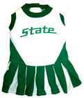 Michigan State Spartans NCAA Licensed Pet Dog Cheerleader Dress Outfit