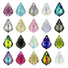 Genuine Swarovski 6090 Baroque Crystals Pendants * Many Colors & Sizes